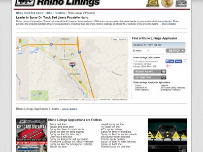 Rhino Linings business